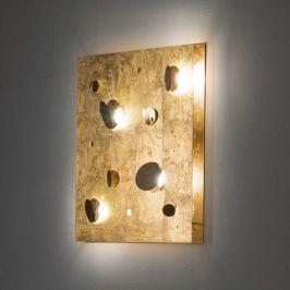 Knikerboker Buchi - LED-Wandleuchte mit Blattgold