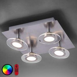Vierflammige LED-Deckenleuchte Lola-Mike