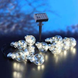 10-flammige Solar-Lichterkette Edison