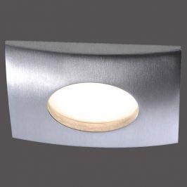 Dimmbarer LED-Einbaustrahler Lumeco, eckig, alu