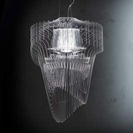 Slamp Aria - LED-Hängeleuchte, 75 cm, klar