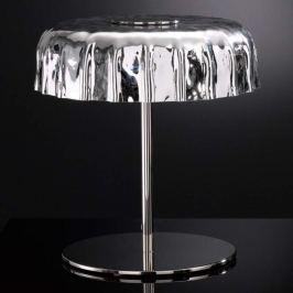 Silberfarbene Tischlampe Big Cap