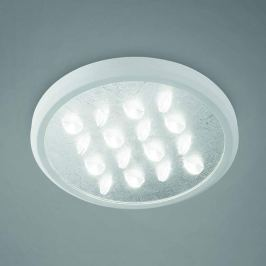 Edle LED-Deckenleuchte Luno in Silber