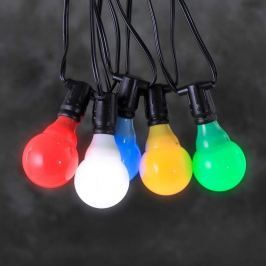 24V-System Biergartenkette LED E10 multicolour