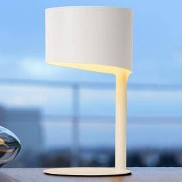 Weiße Tischlampe Knulle