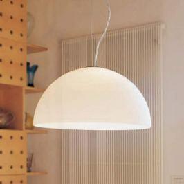 Oluce Sonora - Opalglas-Hängeleuchte, 50 cm