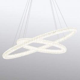 Funkelnde LED-Pendellampe Circle, oval