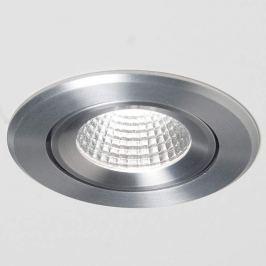 Agon Round LED-Einbauspot 3.000K 40° alu gebürstet