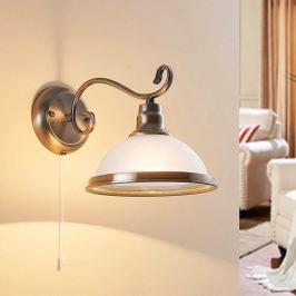 Elegante Wandlampe Frieda, klassischer Stil