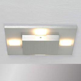 Bopp Slight quadratische LED-Deckenleuchte in Alu