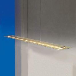 Escale Skyline - LED-Blattgold-Hängelampe dimmbar