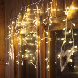 LED-Eislichtvorhang - Lichtfarbe warmweiß