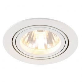SLV New Tria LED-Einbaustrahler, 35°, weiß