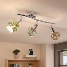 Effektvolle LED-Deckenlampe Isumi, Firework-Optik