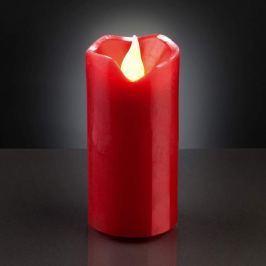 Sichere LED-Wachskerze 5cm x 9,5cm rot