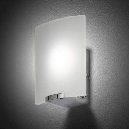 Mattierte LED-Wandleuchte Luis