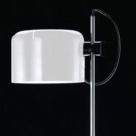 Oluce Coupé - zeitlose Design-Stehleuchte weiß