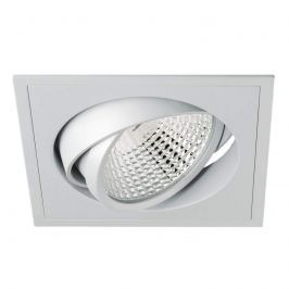 Eckiger LED-Einbaustrahler Carda Competence 36°