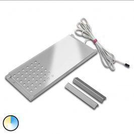 Edelstahl-Optik -Unterbauleuchte Dynamic LED L-Pad