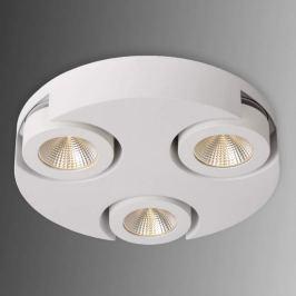 Rundes LED-Deckenrondell Mitrax in Weiß