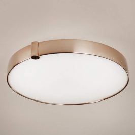 Runde LED-Deckenleuchte Siss, kupferfarben