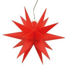 Innendeko - 18-zackiger Stern Ø 12 cm rot