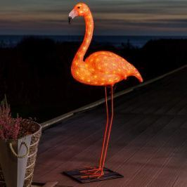 LED-Dekorationsleuchte Flamingo 110 cm