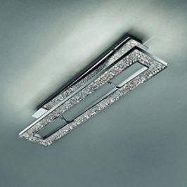 LED-Designer-Deckenleuchte MALE in chrom