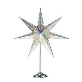 Außergewöhnlicher Stern mit Fuß Vallby chrom