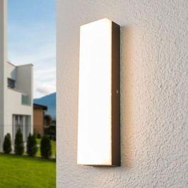Rechteckige LED-Außenwandlampe Donovan