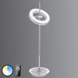 Steuerbare LED-Tischlampe Q-Amy mit Fernbedienung