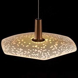 LDM Wyng 6 Cube LED-Hängeleuchte, bronze