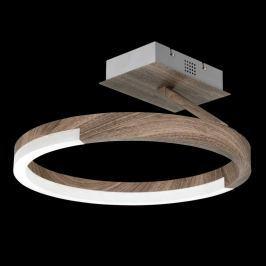 Atmosphärische LED-Deckenleuchte Stick Holz