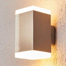 Hedda - moderne LED-Außenwandlampe aus Edelstahl