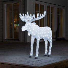 Hoher Acryl-Elch m. LED