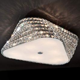 Extravagante LED-Kristalldeckenleuchte Elis