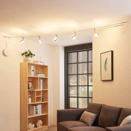 Dimmbares LED-Seilsystem Ksenija, verchromt