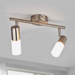 2-flammige LED-Deckenlampe Cristiano