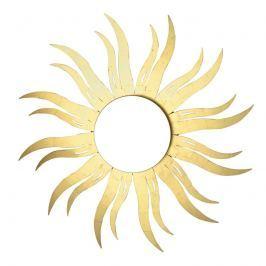 Wandleuchte Inka LED in Sonnenform mit Blattgold