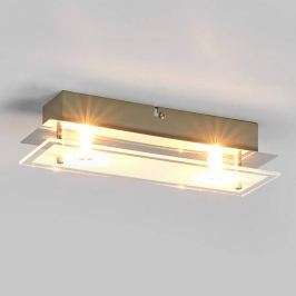 Levy - LED-Deckenlampe aus Glas mit G9-Lampen