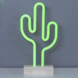 Tisch-Dekorationsleuchte Neonlight in Kaktusform
