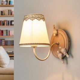 Bouquet - Wandlampe mit niedlicher Spitzenborte