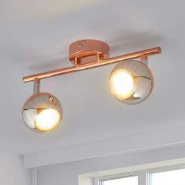 Kupferfarbener GU10-LED-Strahler Arvin