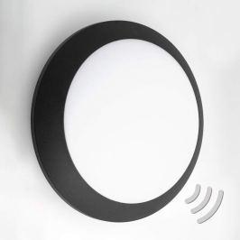 Sensor-Wandlampe Umberta 2xE27 in Schwarz