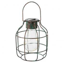 Dekorative LED-Solarleuchte Cage in Vintageoptik
