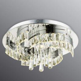 Außergewöhnliche Kristall-Deckenleuchte Febe LED
