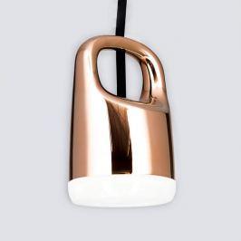 Kupferfarbene LED-Hängeleuchte Tinus