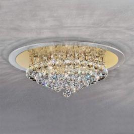 Ausdrucksstarke Kristall-Deckenleuchte TUILA 50 cm