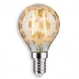E14 2,5W 825 LED-Tropfenlampe Krokoeis gold