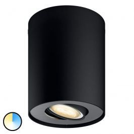 Philips Hue Pillar LED-Spot 1flg. schwarz Dimmsch.